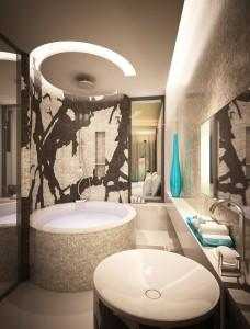 Hillside, Jimbaran Bay bathroom