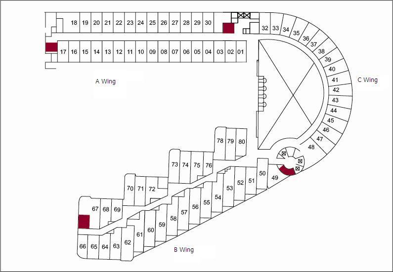 客房ABC區位置圖